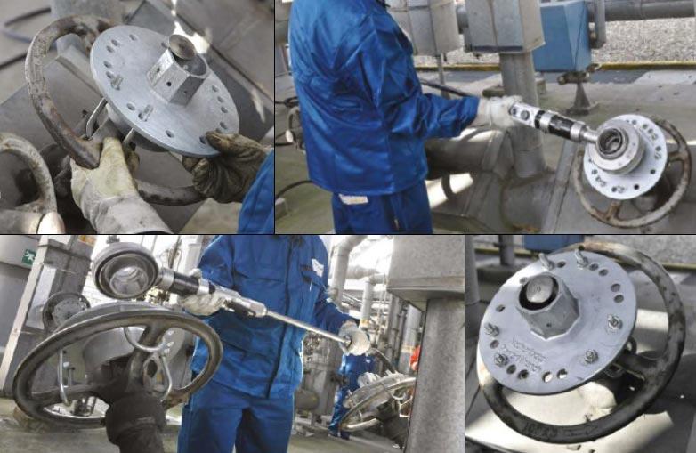 Power Wrench – Sistema neumático de actuación de válvulas manuales